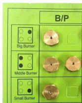 Fúvóka szett PB, fúvóka gázpalackos használathoz, fúvóka PB szett, D86