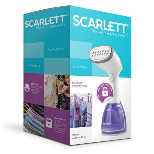 Ruhagőzölő, Scarlett SCGS135S10, kézi gőzölő, 1500 W