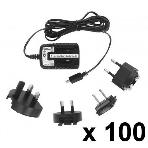 Micro USB tápegység, univerzális töltő, 100 db-os csomag, 5 V, 1,2 A , 1,7 m kábel, TENWEI TAV010501200100